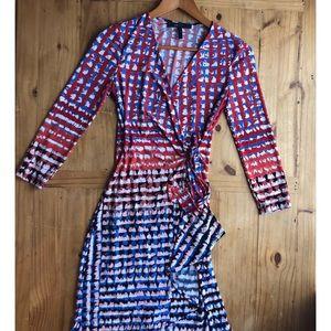 BCBG Wrap Dress S